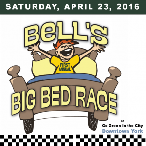 Bed Race event square