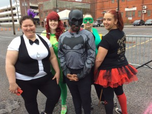 Gotham Bells pose