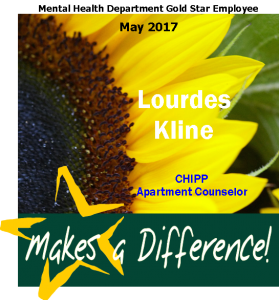 gold star Lourdes Kline