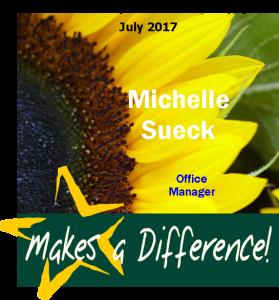 gold star Michelle Sueck